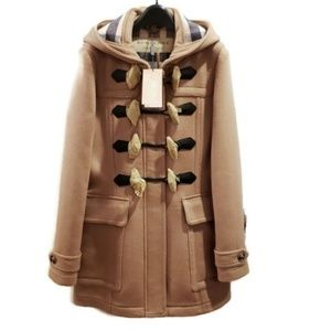 Auth Brand New W/Tag Burberry Coat 100% Wool